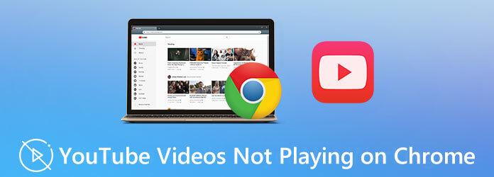 Видео с YouTube не воспроизводятся в Chrome