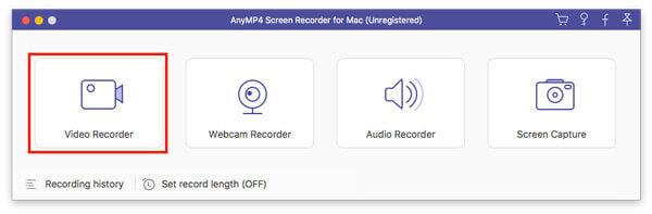 Enregistreur vidéo Mac