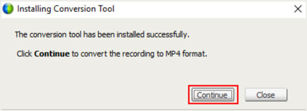 установить ARF to MP4 Conversion Tool