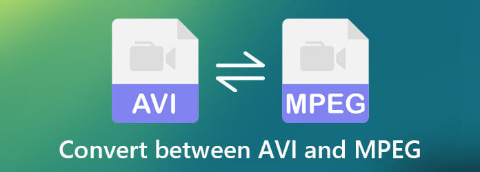 Преобразование между AVI и MPEG