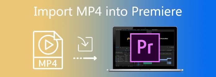 Импортировать MP4 в Premiere