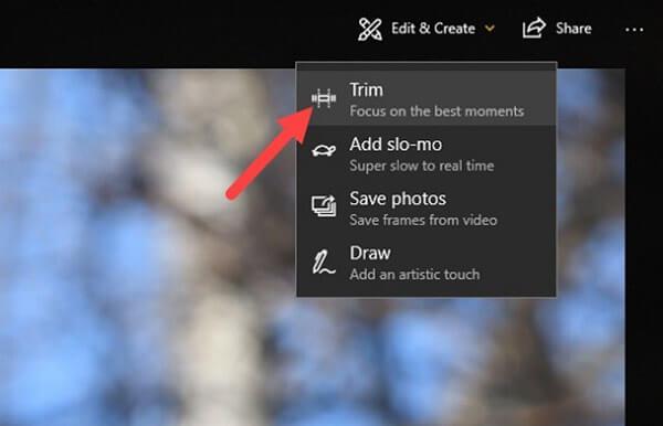 Приложение Windows 10 Photos