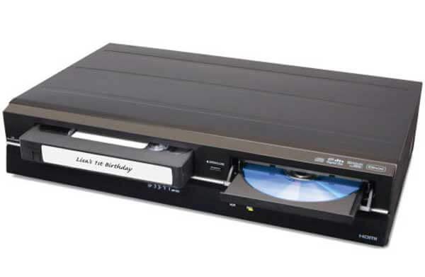 VHS в DVD-плеер